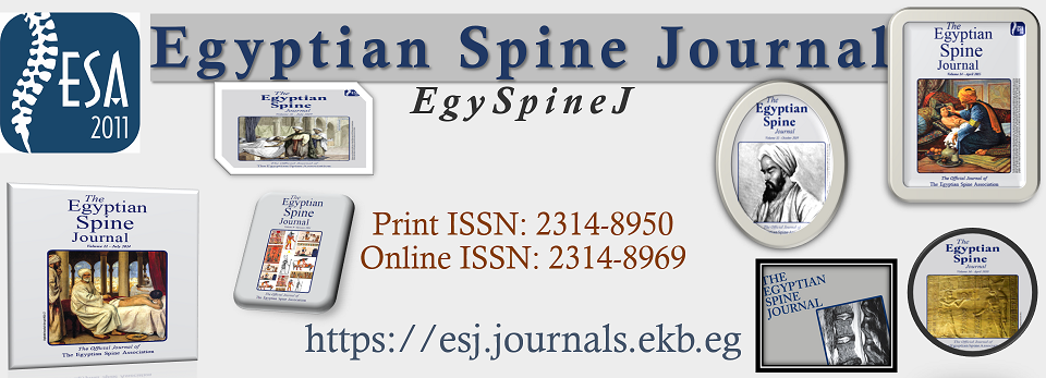 Egyptian Spine Journal